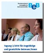 Cover Angehörigentagung 2-2014