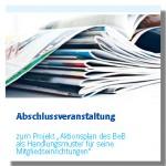 Cover Dokumentation Aktionsplan