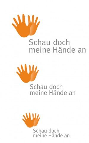 Logo schau doch meine Hände an